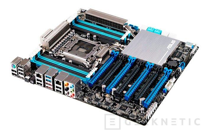 Ya disponible la placa base ASUS P9X79-E WS con siete puertos PCI-Express 16x, Imagen 1