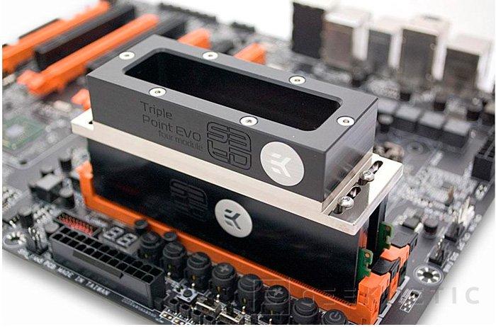 EK lanza al mercado un disipador de memorias RAM para nitrógeno líquido, Imagen 1