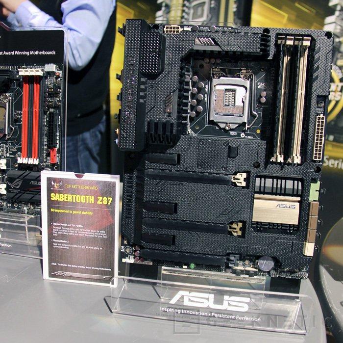 Nuevas placas base TUF de ASUS con chipset Z87, Imagen 1