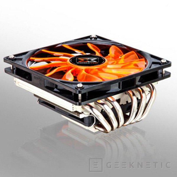 Xigmatek Janus, un disipador para CPU de perfil bajo y doble ventilador, Imagen 1