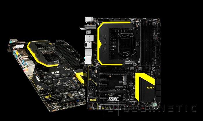 Nuevas placas base para overclock Mpower de MSI con chipset Z78, Imagen 1