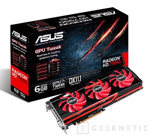ASUS presenta en España su versión de la tarjeta gráfica más potente del mundo, la Radeon HD 7990, Imagen 1