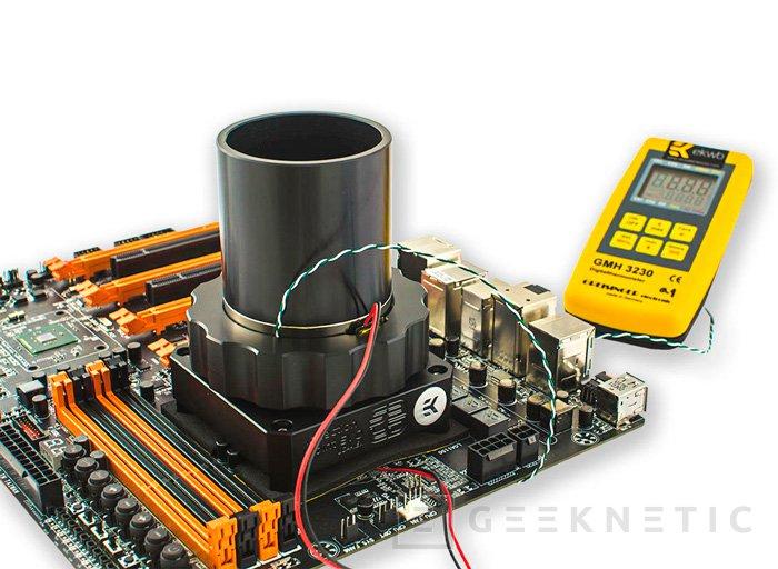 Llega el EK-SF3D Inflection Point EVO, el anunciado evaporador de CPU para nitrógeno líquido de EK, Imagen 2