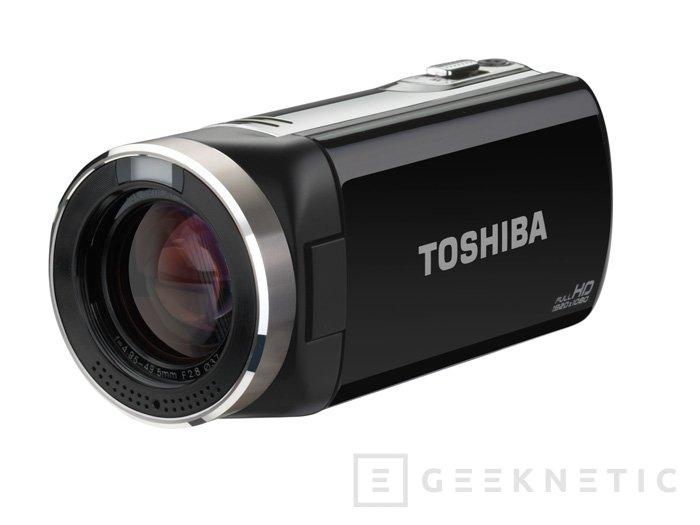 CAMILEO X150, nueva cámara de vídeo con Zoom óptico de Toshiba, Imagen 1