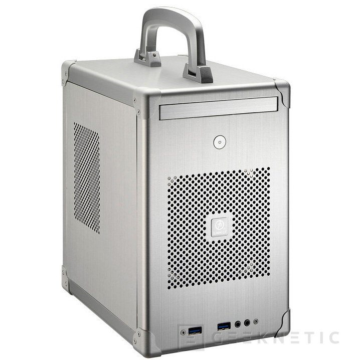 Lian Li PC-TU100, una nueva torre Mini-ITX con asa para trasportarla, Imagen 1