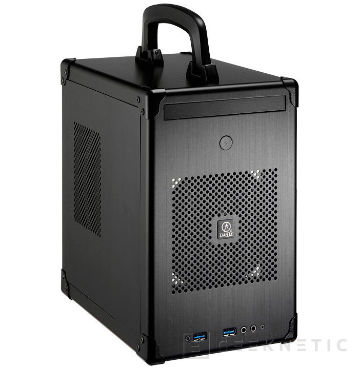 Lian Li PC-TU100, una nueva torre Mini-ITX con asa para trasportarla, Imagen 2