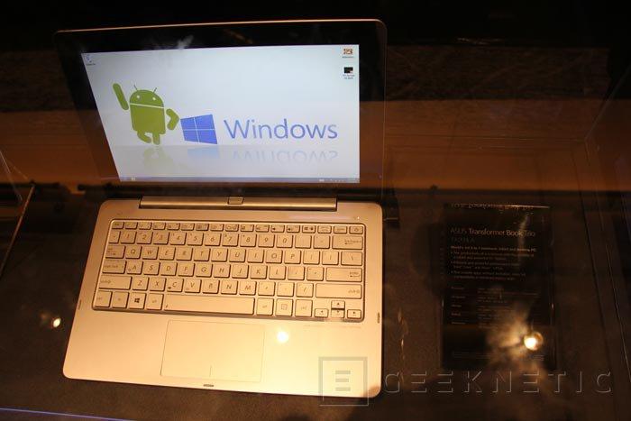 Computex 2013. ASUS. Transformer Book Trio, tablet convertible con Android y Windows 8, Imagen 3