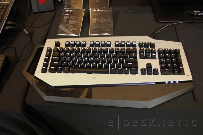 Computex 2013. Cooler Master. Mech, el nuevo teclado mecánico ya en versión final, Imagen 1