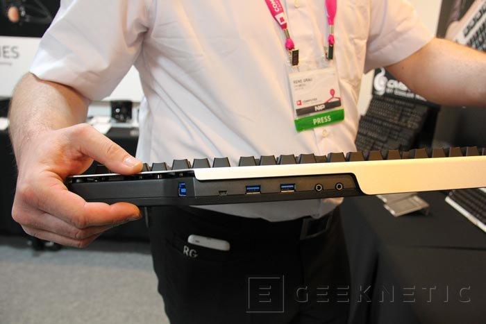 Computex 2013. Cooler Master. Mech, el nuevo teclado mecánico ya en versión final, Imagen 3