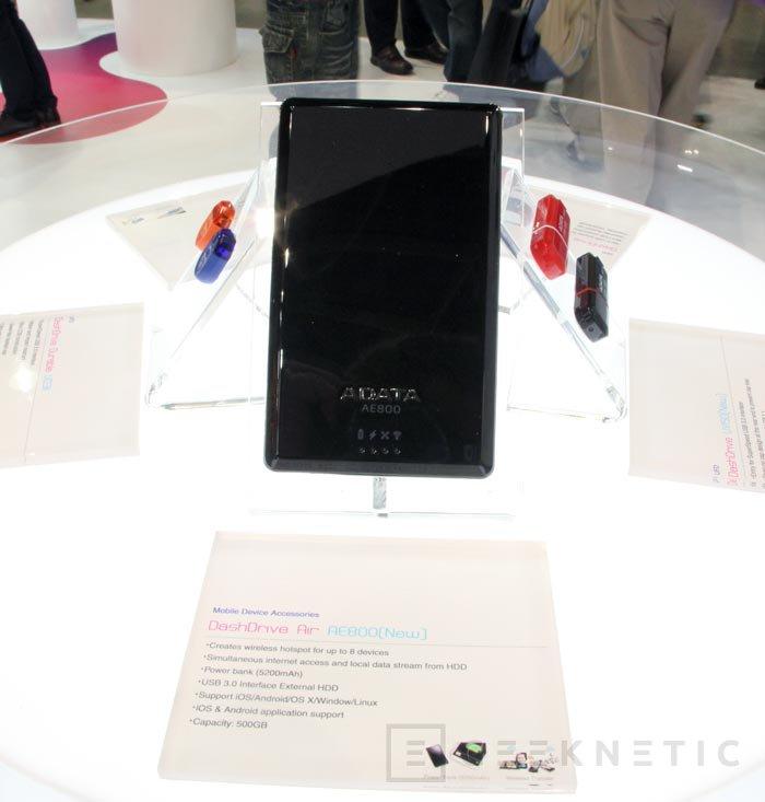 Computex 2013. ADATA. DashDrive, dispositivos de almacenamiento para smartphones y tablets, Imagen 1