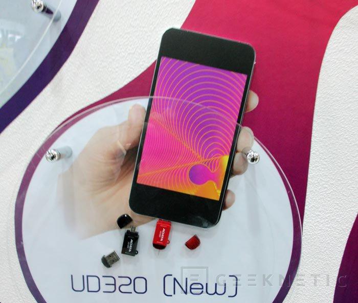 Computex 2013. ADATA. DashDrive, dispositivos de almacenamiento para smartphones y tablets, Imagen 3