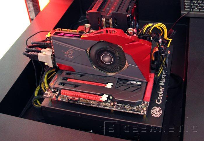 Computex 2013. ASUS. GTX 770 ROG Poseidon, gráficas con refrigeración híbrida con aire y líquido, Imagen 3