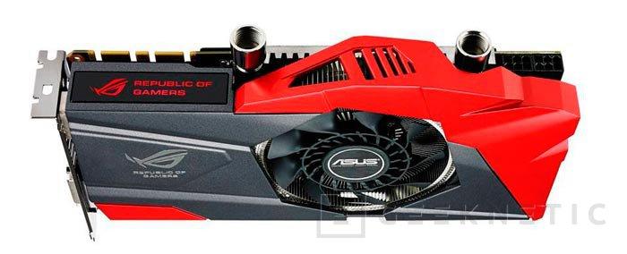 Computex 2013. ASUS. GTX 770 ROG Poseidon, gráficas con refrigeración híbrida con aire y líquido, Imagen 1