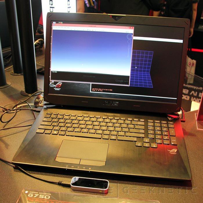 Computex 2013. ASUS. ROG G750, nuevo portátil de la serie Republic of Gamers, Imagen 2