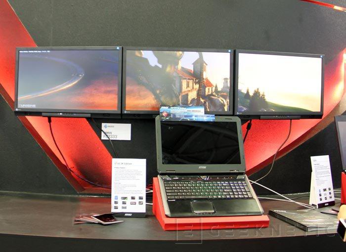Computex 2013. MSI. GT60 3K Edition. Portátil gaming de alta resolución, Imagen 2
