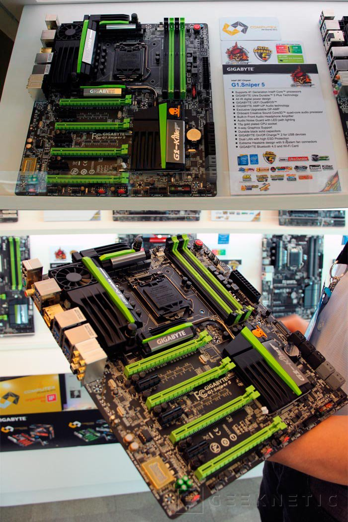 Computex 2013. Gigabyte. Placas base Z87, Imagen 1