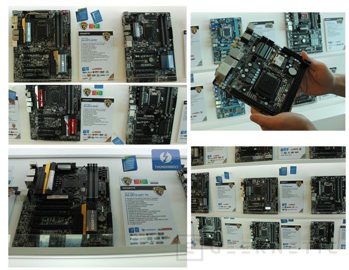Computex 2013. Gigabyte. Placas base Z87, Imagen 3