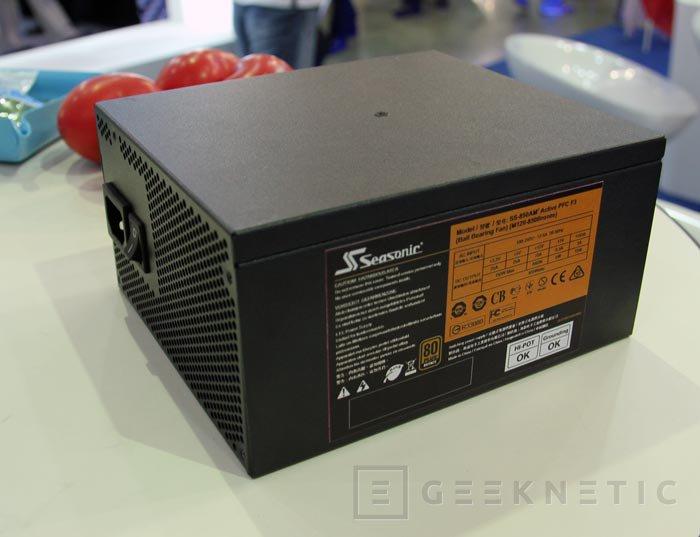 Computex 2013. Seasonic. Nuevas fuentes de alimentación, Imagen 2