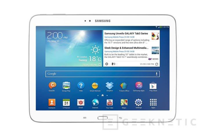 Llegan los Samsung Galaxy Tab 3 con procesadores Intel Atom, Imagen 1