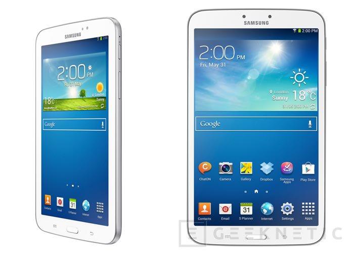 Llegan los Samsung Galaxy Tab 3 con procesadores Intel Atom, Imagen 2