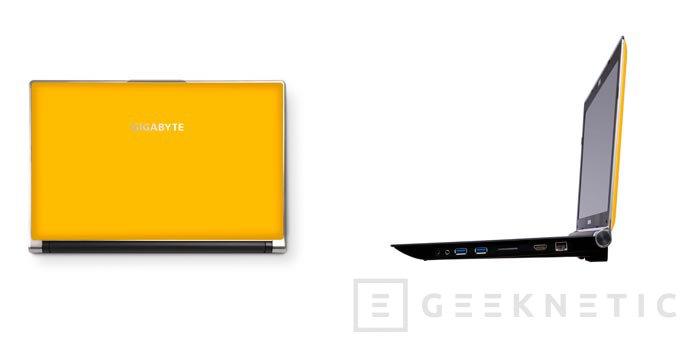 Computex 2013. Gigabyte. Portátiles Gaming P25W y P27K, Imagen 1