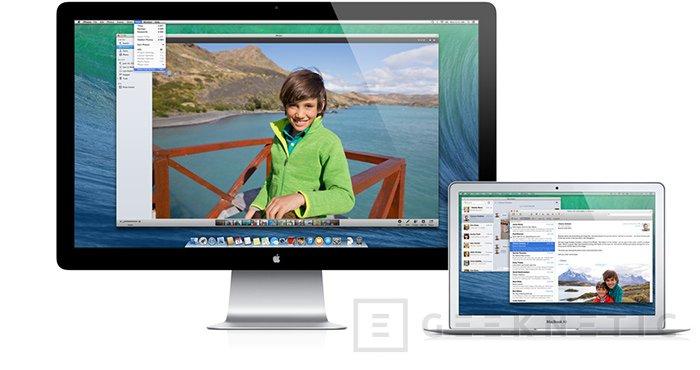 Apple MacOS Mavericks, Imagen 2