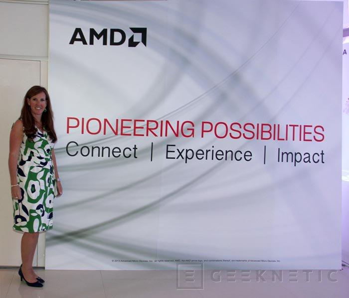 Computex 2013. AMD. Dispositivos con las nuevas APU y entrevista con Michelle Wells, Imagen 3