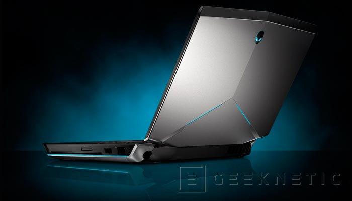 Alienware actualiza su catálogo de portátiles con Intel Haswell y gráficas Geforce 700m, Imagen 3