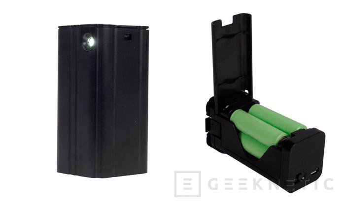 SilverStone PB03B, cargador de emergencia para dispositivos móviles, Imagen 1