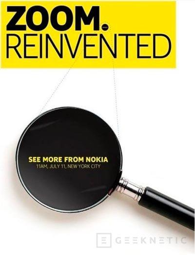 Zoom Reinvented, anunciado un evento de Nokia para el 11 de julio para mostrar el Nokia EOS, Imagen 2