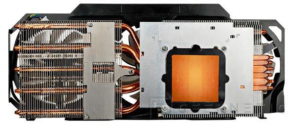 Gigabyte GTX TITAN con sistema de refrigeración WindForce de tres ventiladores, Imagen 2