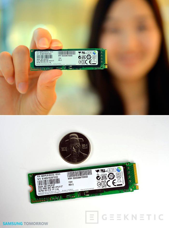 Samsung XP941, un SSD en formato M.2 con 1.400 MB/s de velocidad de lectura, Imagen 1