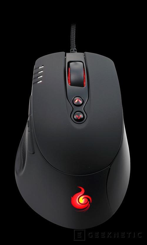 Cooler Master Storm Havoc, nuevo ratón para jugadores con 8200 DPI, Imagen 2