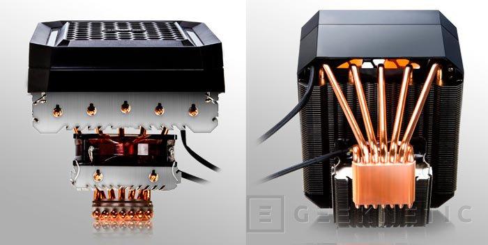 Ximatek Orthrus, nuevo disipador de CPU con doble bloque de aletas de aluminio, Imagen 2