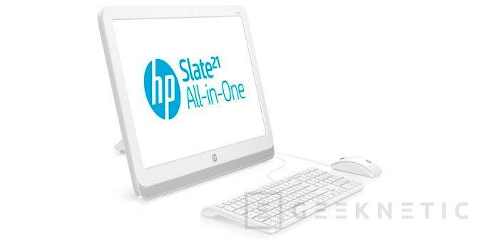 HP Slate 21, todo en uno de sobremesa con Tegra 4 y Android, Imagen 1
