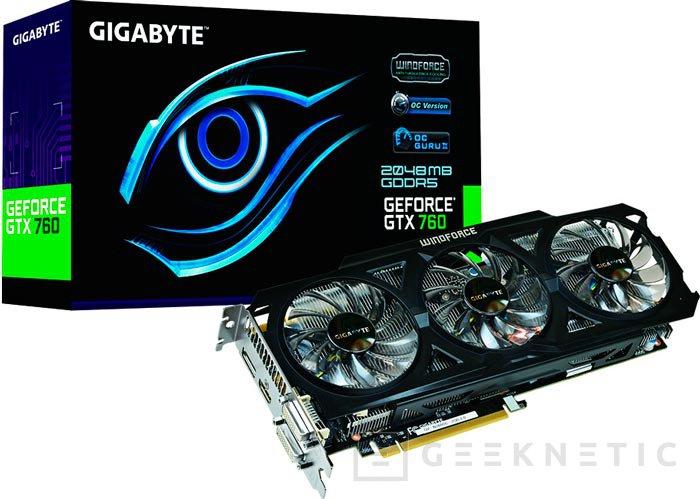 Otros modelos destacables de tarjetas gráficas GeForce GTX 760, Imagen 1