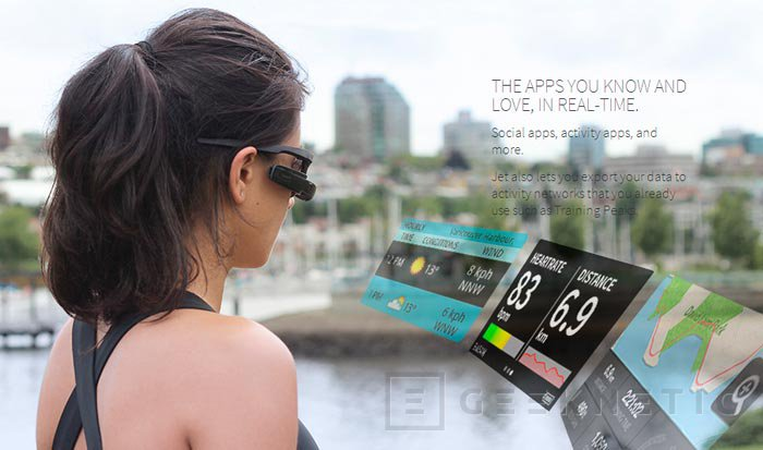 Recon Jet, las gafas con Android y pantalla pensadas para deportistas disponibles por 499 dólares, Imagen 3