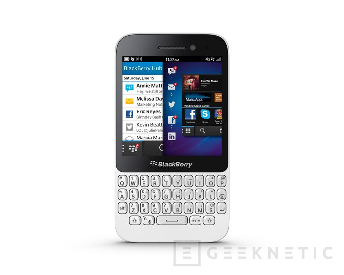 Blackberry Q5, el terminal más asequible con Blackberry 10 llega a España, Imagen 1