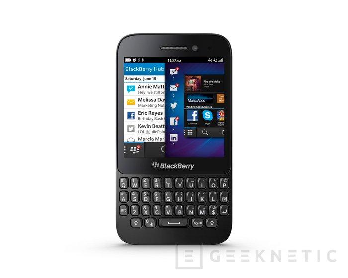 Blackberry Q5, el terminal más asequible con Blackberry 10 llega a España, Imagen 2