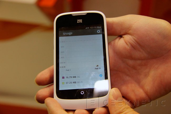 ZTE Open llega de la mano de Movistar, un terminal con Firefox OS por 69 Euros, Imagen 1