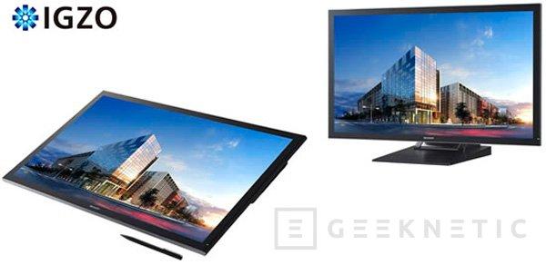 Sharp también presenta un monitor de 32 pulgadas con resolución 4K y panel IGZO, Imagen 1