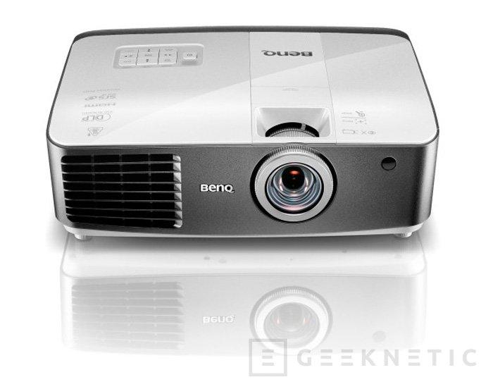 BenQ presenta su nuevo proyector inalámbrico W1500 con 3D y 1080p, Imagen 1