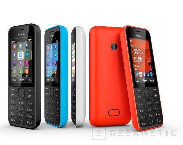 Nokia mantiene su apuesta por terminales de gama baja con dos nuevos modelos, Imagen 1