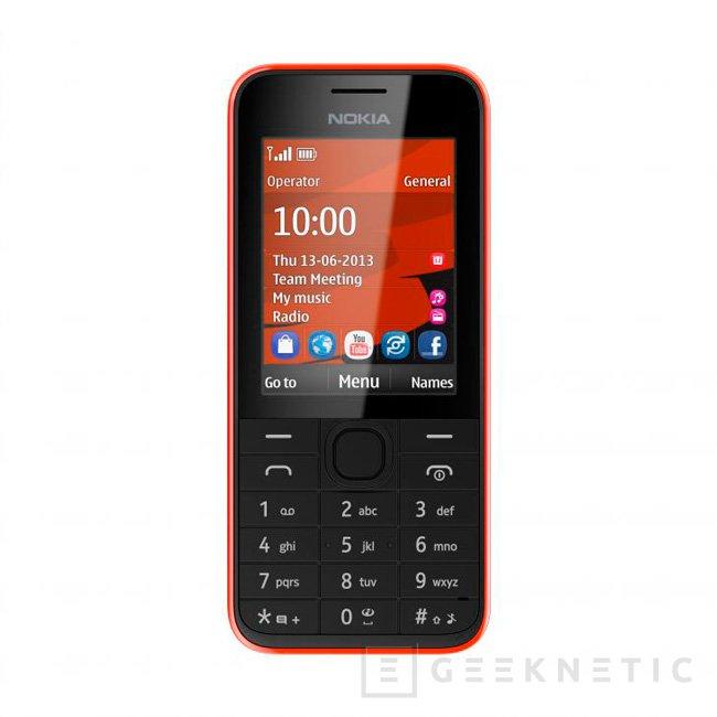 Nokia mantiene su apuesta por terminales de gama baja con dos nuevos modelos, Imagen 2