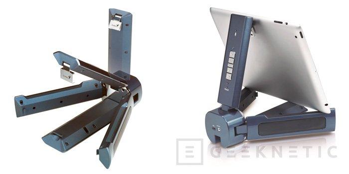 Genius lanza al mercado un curioso sistema de altavoces portátiles 2.1 para dispositivos móviles, Imagen 2