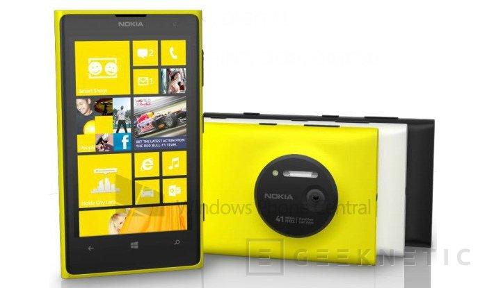 El Nokia 1020 se presentara el jueves. Estos son los datos, Imagen 1