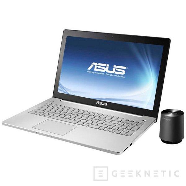 La gama de portátiles multimedia ASUS N Series se renueva con Haswell y sistema de sonido de 4 altavoces, Imagen 1