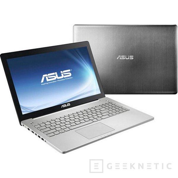La gama de portátiles multimedia ASUS N Series se renueva con Haswell y sistema de sonido de 4 altavoces, Imagen 2