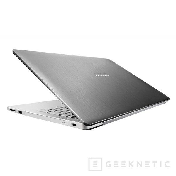 La gama de portátiles multimedia ASUS N Series se renueva con Haswell y sistema de sonido de 4 altavoces, Imagen 3