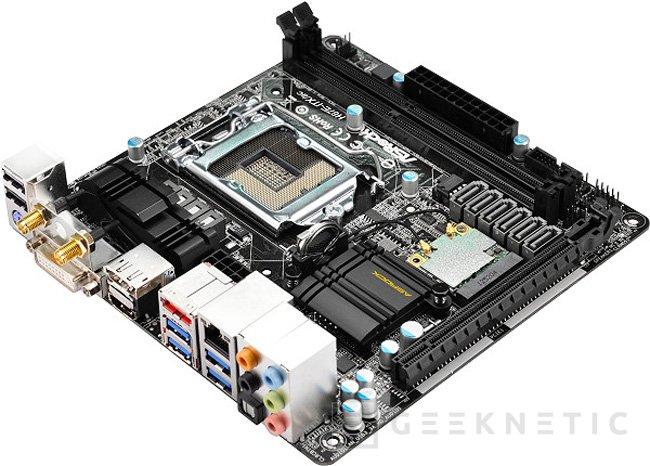 ASRock H87E-ITX/ac una placa base de reducido tamaño con  WiFi ac de alta velocidad integrada, Imagen 2